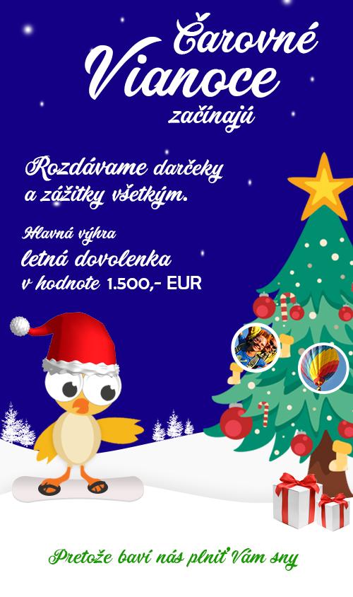 ace219d657 Čarovné Vianoce - rozdávame darčeky